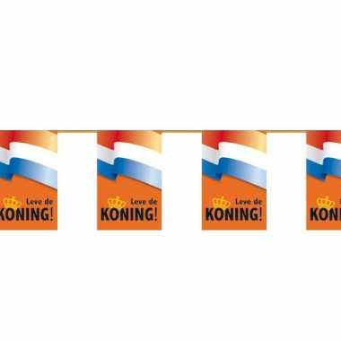 Leve de koning vlaggenlijn 6 meter