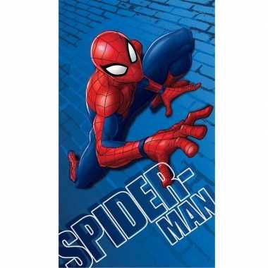 Marvel spiderman badlaken/strandlaken 70 x 120 cm