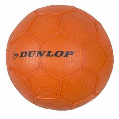 Oranje speelgoed voetbal maat 3 voor kinderen