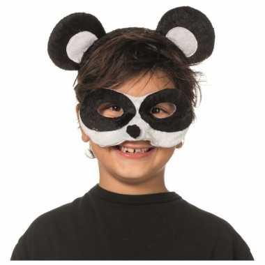 Panda masker en tiara voor kinderen