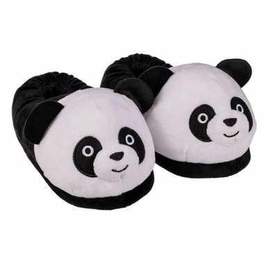 Panda pantoffels voor kinderen