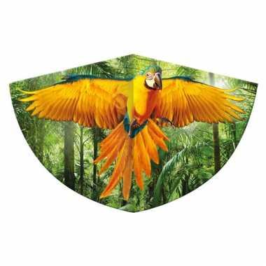 Papegaai vlieger 75 x 48 cm