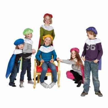 Pieten baret en cape voor kinderen