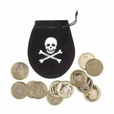 Piraat buidel met munten