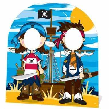 Piraten stand-in bord voor kinderen