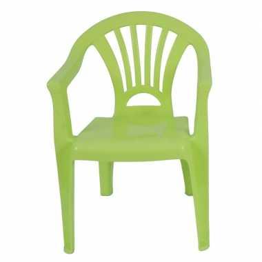 Plastic kinderstoel groen 37 x 31 x 51 cm