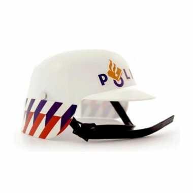 Politie helm verkleed accessoire voor kinderen