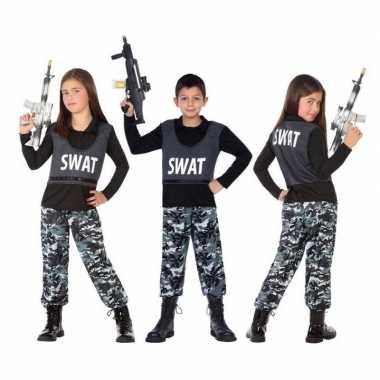 Politie swat verkleed pak/kostuum voor kinderen