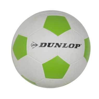 Professionele kinder voetbal maat 5 wit/groen