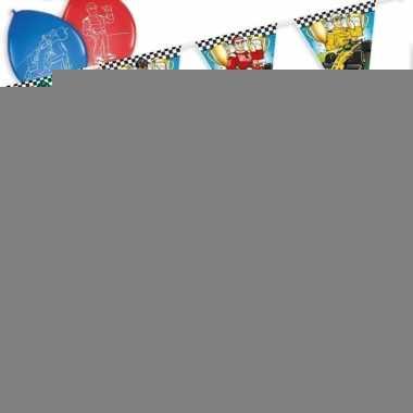 Race/formule 1 thema kinderfeest pakket
