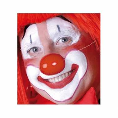 Rode clowns neus