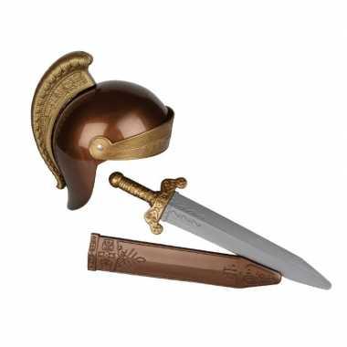 Romeinse ridder verkleed set voor kinderen