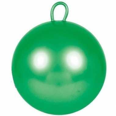 Skippybal groen 60 cm voor kinderen