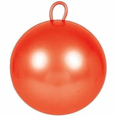 Skippybal rood 70 cm voor kinderen