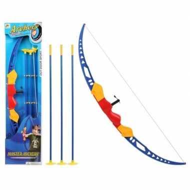 Speelgoed pijl en boog set voor kinderen 76 cm