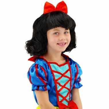 Sprookjes prinsessen pruik voor kinderen 10079288