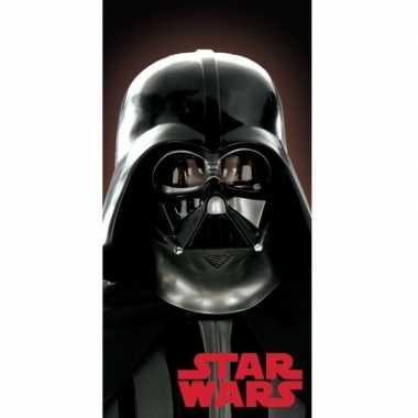 Star wars darth vader badlaken/strandlaken 70 x 140 cm