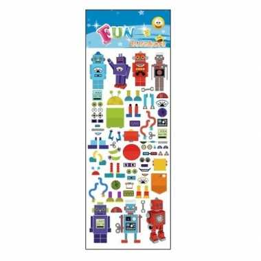 Stickervel robot