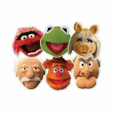 The muppets maskers 6 stuks