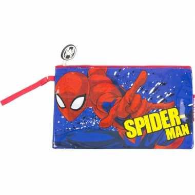 Toilettas spiderman 24 cm voor kinderen