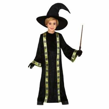 Tovenaar verkleed kostuum voor kinderen met hoed