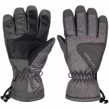 Winter handschoenen starling riva grijs/antraciet voor kinderen