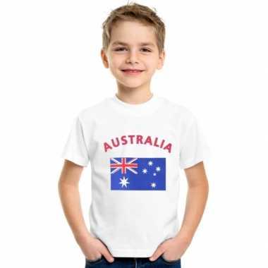 Wit kinder t-shirt australie