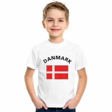 Wit kinder t-shirt denemarken