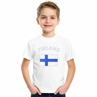 Wit kinder t-shirt finland