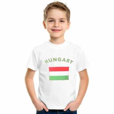 Wit kinder t-shirt hongarije
