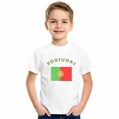 Wit kinder t-shirt portugal
