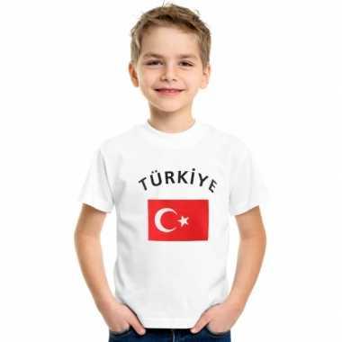 Wit kinder t-shirt turkije