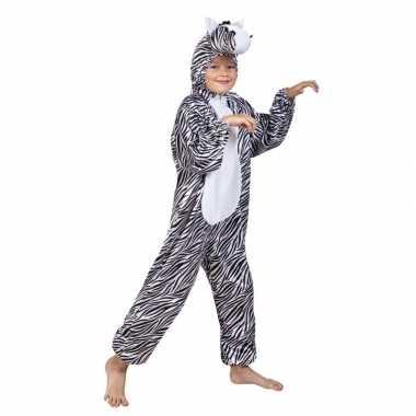 Zebra kostuum voor kinderen