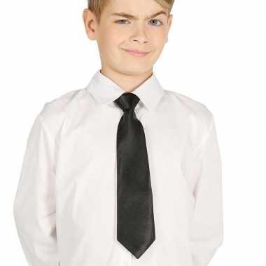 Zwarte stropdas voor kinderen