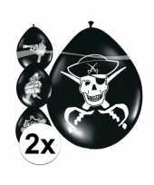 16x piraten ballonnen