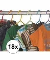 18x plastic kinder kledinghangers