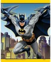 8x batman themafeest feestzakjes uitdeelzakjes 23 x 17 cm