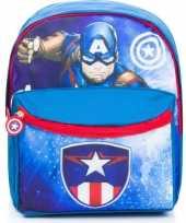 Avengers rugzak rugtas blauw 29 cm voor kinderen