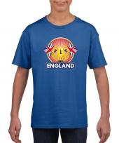 Blauw groot brittannie engeland supporter kampioen shirt kind