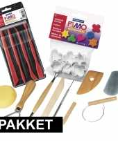 Boetseer klei gereedschap en vormpjes pakket