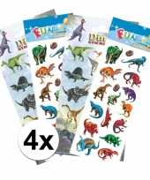 Dino kinder stickers pakket