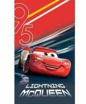 Disney cars lightning mcqueen badlaken strandlaken 70 x 120 cm
