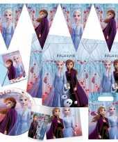 Disney frozen 2 kinderfeest pakket voor 2 8 personen