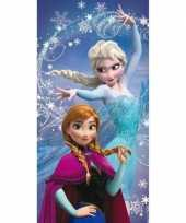 Disney frozen anna en elsa badlaken strandlaken 70 x 140 cm