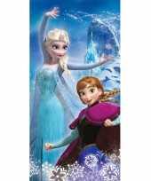 Disney frozen elsa en anna badlaken strandlaken 70 x 140 cm
