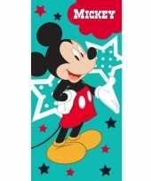 Disney mickey mouse badlaken strandlaken 70 x 140 cm
