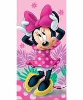 Disney minnie mouse badlaken strandlaken 70 x 140 cm