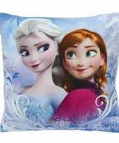 Frozen kussen elsa en anna 35 cm