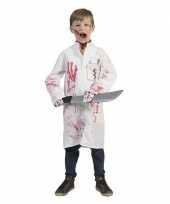 Halloween bebloede doktersjas voor kinderen