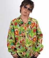 Hippie blouse met rouches voor kids